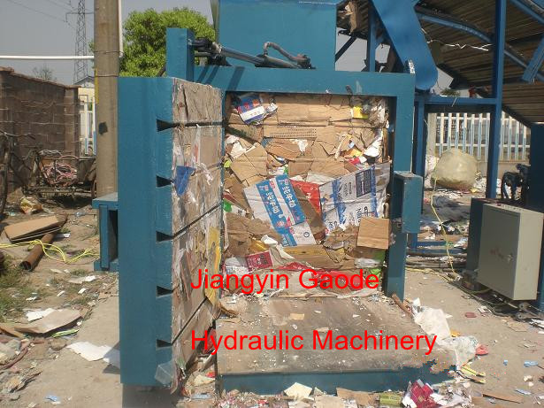 Hydraulic Scrap Plastic Film Press Machine
