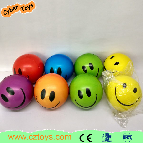Pu Foam Anti Stress Ball toy ball mini pu foam balls for promotion