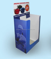 OEM/ODM Cookware Cardboard Dump Bin for Supermarket