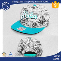 2016 Cool design 3d embroidery customize adjust snapback hats