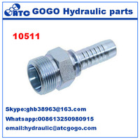 10511 Metric Male fitting 24 Degree Cone Seat Seal H.T. metric plumbing fittings