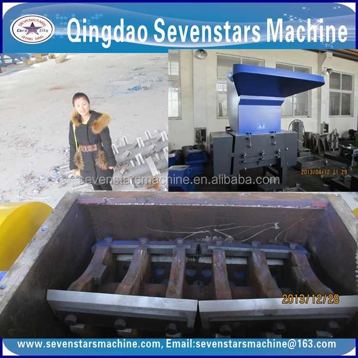 wpc profile plastic crusher used