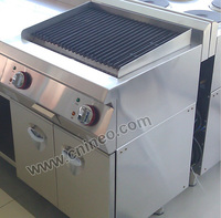 Floor Style Gas Industrial Heavy Duty Barbecue Grill/Cyprus Grill/Commercial Used Gas Grill For Sale