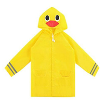 Wholesale PVC Children Raincoat Poncho Custom Print Kids Raincoat