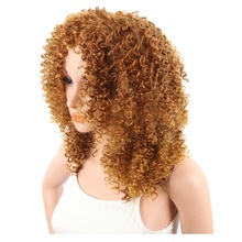 cuticle aligned curly honey copper blonde color hair