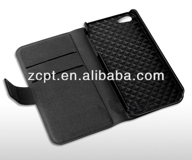 New hot selling wallet case for iphone 5