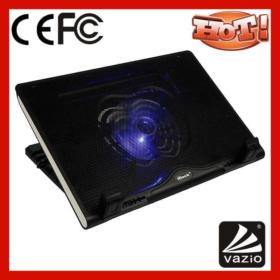 height adjustable laptop cooler pad for <strong>13</strong> to 16 inch laptop