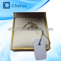 13.56mhz jewellery price tags provide printing serial number,logo etc