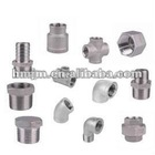 stainless steel pipe connectors threaded (CE Approved)