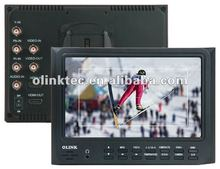 Olink FM7D 7 INCH HD LCD Field Monitor w/ HDMI in HDMI out Component in Composite in