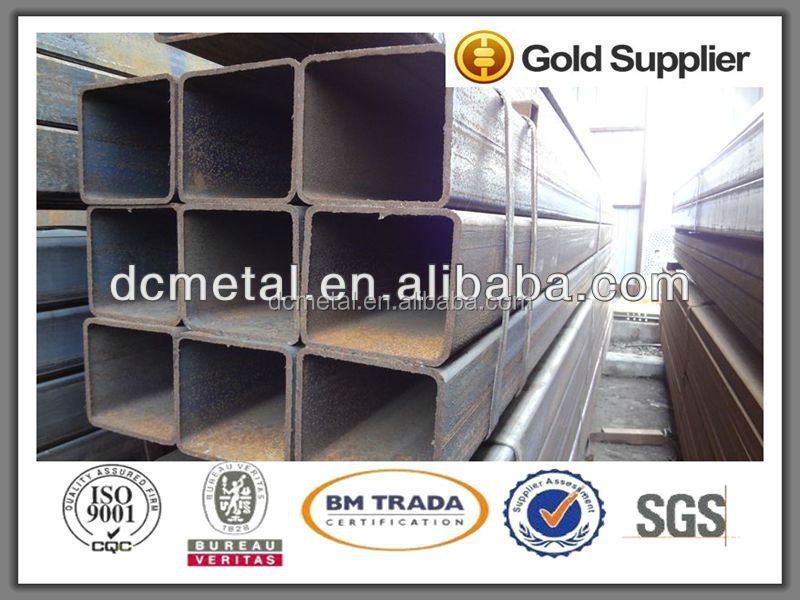 Building material Square/Rectangular Steel Tube sqaure tube black sqaure tube made in china welcome to buy