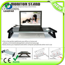DSG26HL Glass Tempered Glass Monitor Stand for Desk