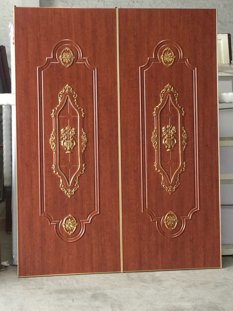 Best selling products 2016 solid pine wood wardrobe door new technology product in china