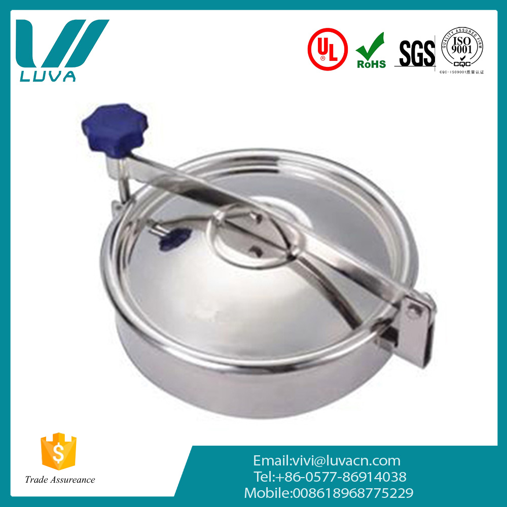 Wholesale mirror polished stainless steel round manhole cover price