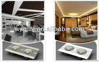 36W Led grille lamp for office lighting,hotel,pub lighting,etc