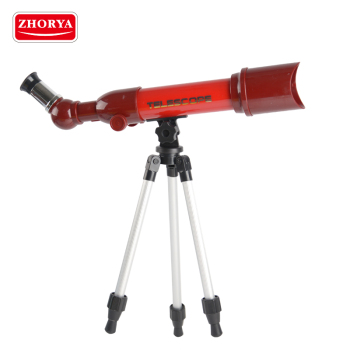 Zhorya wholesale 8X plastic toy long range astronomical kids telescope