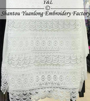 factory wholesale full bead lace trimming for dress accessory