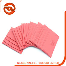 PU leather credit card holder/ID card holder for promotion