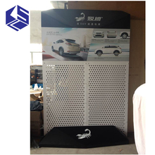Auto shop design wall high cabinet with hanging