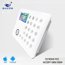 RFID Access Control wireless GSM+PSTN+TFT Smart Home Anti-theft Security Alarm System