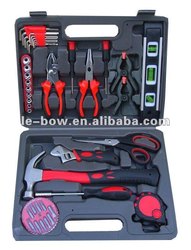 LB-306-43pc tool kit in blow plastic case