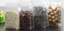 Wholesale snack food package bag, 1kg Stand up zipper bag cashew nuts, whey protein powder bag