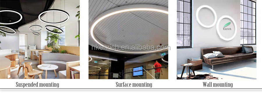 AC220~240V/110-277V New design modern Round Fixture Lighting Lamp Led Ceiling Light