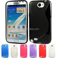 S Line Gel Case for Samsung Galaxy Note 2 II N7100 Soft TPU silicone shell back cover