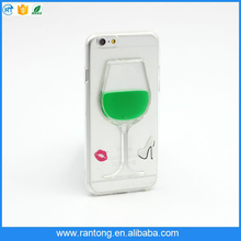 china supplier TPU Material Liquid cell phone case For iPhone 6