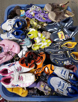 Bigger size 42-45 branded used sports shoes for women men children high quality hotest sale good second hand shoes