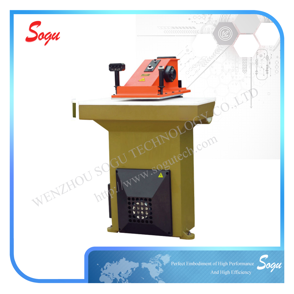 High Qaulity manual die cutting machine,shoe sole cutting machine,die-cutting machine for leather shoes industry in china