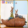 Cute Rabbit Bookend For Home Decoration