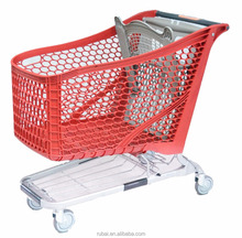 Used Shopping Carts sale for Supermarket with coin lock