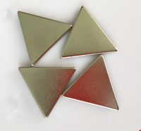 Factory sale various widely used strong Attractive price new type permanent power triangle magnet