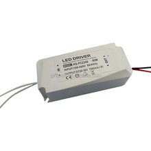 external constant current 1500ma plastic led driver 50w