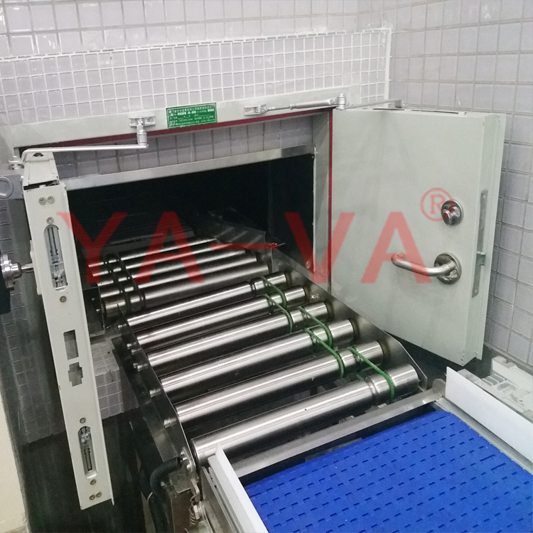 material handling conveying tray shaft roller conveyor