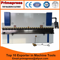 Multi axis CNC back gauge control 250T/4000mm heavy duty working press brake machine for 6mm steel plate