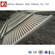 All glass evacuated tube solar thermal collector for solar hot water projects
