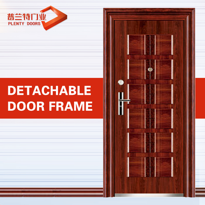Russia style high quality security steel door
