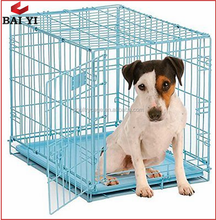 "2 Doors 24"" 30"" 36"" 42"" 48"" Wire Metal Folding Pet Dog Cage"