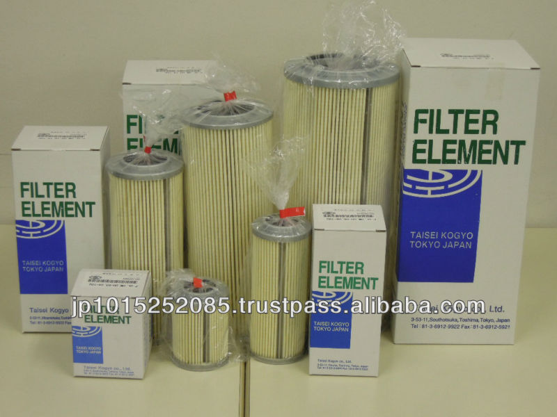 genuine part replacement taisei kogyo stainless steel filter element made in japan
