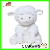Baby Dumpling Plush Lamb Musical Wind Up Toy Jesus Loves Me 12 Inch