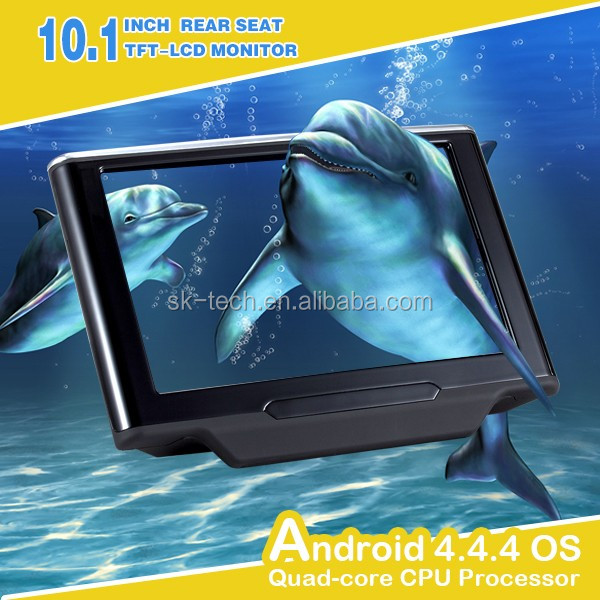 "10.1"" Car headrest multimedia player with TV monitor for backseat entertainment system"
