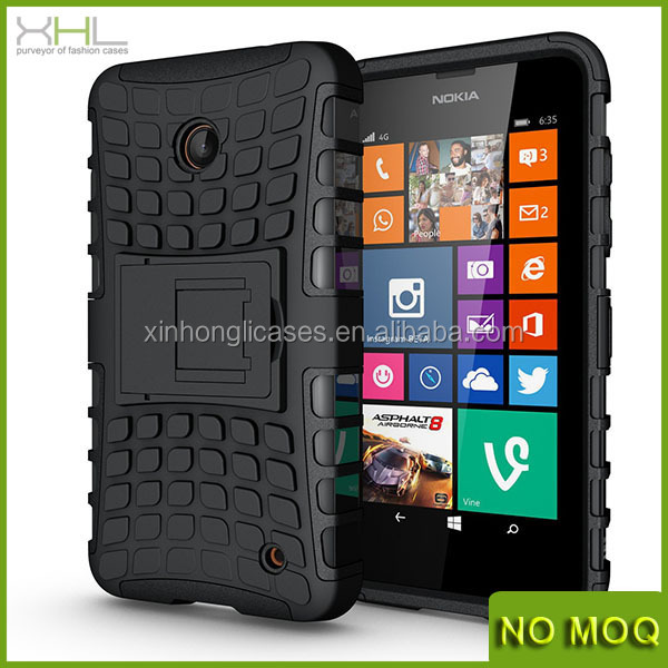 New product hard rubber mobile phone case for Nokia lumia 630
