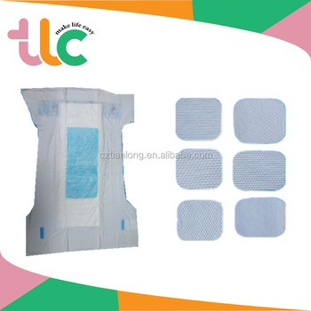 Breathable and Cotton soft nonwoven topsheet women sanitary pads/sanitary napkin/towels