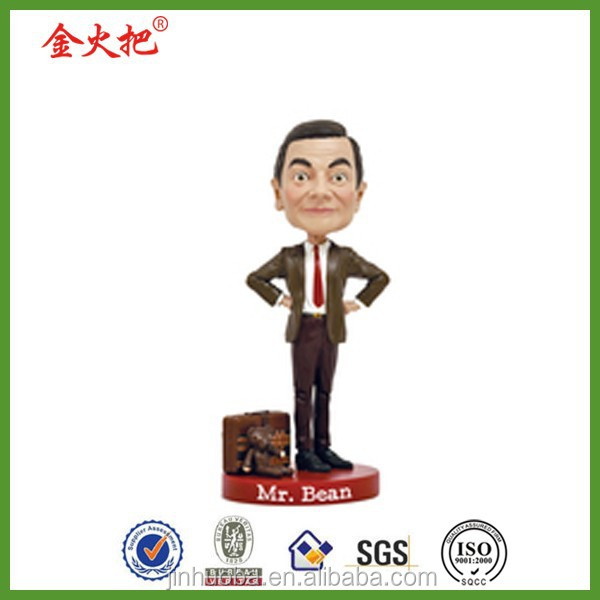 2014Factory Direct Sale Famous People Resin Bobble Head for Sale