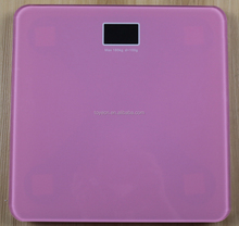 6-8mm glass digital bathroom weighing electronic body scale
