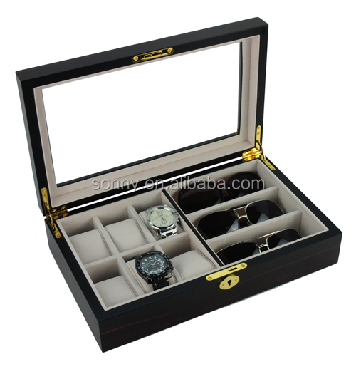 High Quality Wooden Sunglasses Packaging Boxes