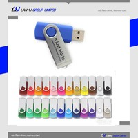 twister usb memory stick , promotional usb pen drive , custom swivel usb 1gb