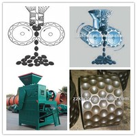 High efficiency charcoal pellet making machine coal powder ball press machine